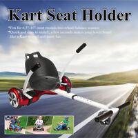 White Kart Seat Holder Stand Bracket For 6.5'' 8'' 10'' Go-Kart Balance Scooter