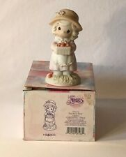 """Precious Moments Figurine 139513-""""You're the Berry Best"""" - Child Holding Berries"""