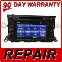 2014 - 2020 Toyota Highlander OEM Navigation Touch Screen Replacement Repair