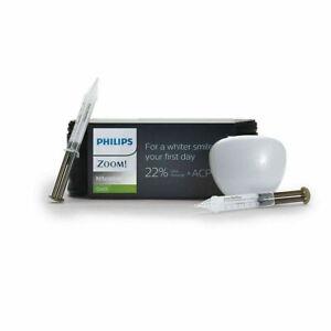 Philips Zoom NiteWhite 22% Teeth Whitening Gel 6 Syringe Case Pack EVA EXP 11/22