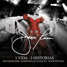 1 Vida - 3 Historias [CD/2 DVD Combo] by Jenni Rivera SEALED