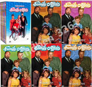 Family Affair - The Complete Series Seasons 1-5 (DVD, 2008, 24-Disc) US Seller