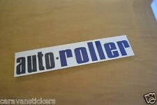 AUTO ROLLER - (STYLE 1) - Motorhome Roof Name Sticker Decal Graphic - SINGLE