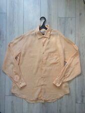 LORO PIANA 100% Flax Lino Men Shirt