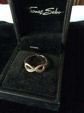 Thomas Sabo Infinity Ring size 54 in Rose Gold