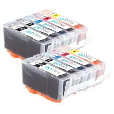 10 Cartucce d'Inchiostro (2 Set) per Canon Pixma iP4950, MG5350, MG8170, MX895