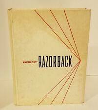 UNIVERSITY OF ARKANSAS 1960 YEARBOOK ANNUAL RAZORBACKS HOGS!