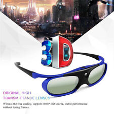 DLP Projector 3D Glasses Battery Universal 96-144Hz For Optoma BenQ Acer 3D XB$m