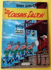 LUCKY LUKE LES COUSINS DALTON DUPUIS BROCHE  MORRIS GOSCINNY EO 1958  BE