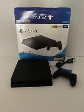 Sony PlayStation 4 Slim 500GB Black Gaming Console, 99p Start