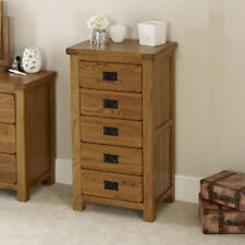 oak tallboy chests of drawers for sale ebay rh ebay co uk