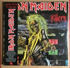 Iron Maiden KILLERS Vinyl LIMITED EDITION PICTURE DISC LP - SEALED AND BRAND NEW