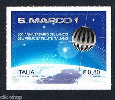 ITALIA UN FRANCOBOLLO S. MARCO SATELITE ITALIANO 2014 nuovo**