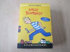 Astrid Lindgren - KALLE BLOMQUIST - Gesamtausgabe - Omnibus - TB - (19824)