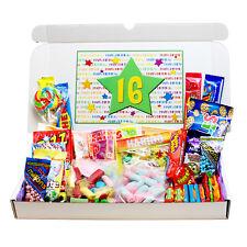 16TH BIRTHDAY SWEETS GIFT BOX- GREAT BIRTHDAY PRESENT