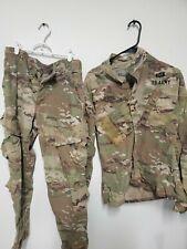Scorpion fire resistant OCP  Set, Army Combat Uniform small short w2 deployment