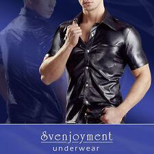 Herren-Freizeithemden aus Polyester mit Stehkragen