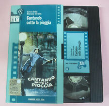 film VHS CANTANDO SOTTO LA PIOGGIA Gene Kelly  CUSTODIA CARTONATA (F166)  no dvd