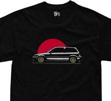 Honda Civic ah TShirt third gen jdm hatchback SB3 D 583 CW t-shirt