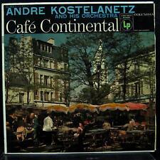 Andre Kostelanetz - Cafe Continental LP VG+ CL 863 Mono 6i Vinyl 1956 Record