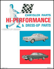 Performance Parts Catalog Coronet Charger Dart 1966 1965 1964 1963 1962 61 Dodge