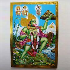 Altarbild Hanuman Prägedruck Indien Hinduismus Bild  Om Puja 17