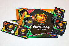 Panini EM EC Euro 2004 04 – 2 x Box Display + 100 Tüten packets sobres + ALBUM