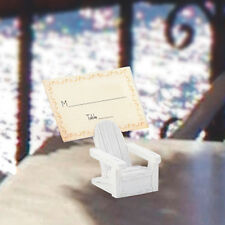 25 Adirondack Chair Place Card Holder Wedding Favor Beach Theme Party Favor Lot