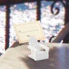 50 Adirondack Chair Place Card Holder Wedding Favor  Beach Theme Bulk Favor Lot