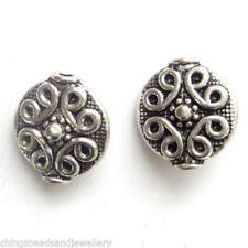 Any Purpose Round Jewellery Making Tibetan Silver Beads