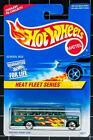 Dealer Dave 1:64 HOT WHEELS 1997 HEAT FLEET #2,SCHOOL BUS, #538, MINT, FRESH(33)