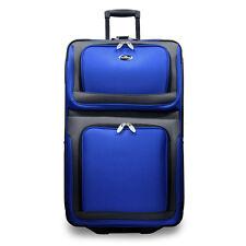 "New Yorker Blue 29"" Large Expandable Rolling Luggage Wheeled Travel Suitcase Bag"