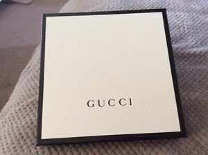 Authentic Gucci Box WITH Tissue & seal 26 x 26 x 4 cms