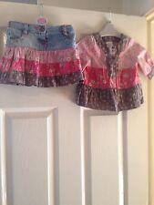 Next Baby Girls Long Sleeve Top & Skirt  - Age 6-9 Months