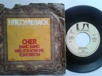 "Cher / Bang Bang 7"" Single Vinyl 1972 mit Schutzhülle"