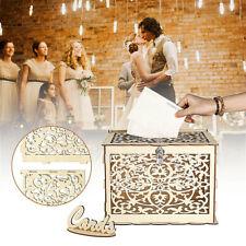 Wedding Greeting Card Box Birthday Party Decor Supply Gift Money Advice Case