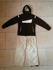 COLUMBIA 3 in 1 jacket OBERMEYER ski pants insulated girls 10/12 snow board suit