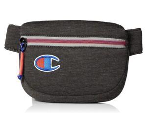 Champion Waist Bag Fanny Pack Attribute Men Dark Gray Color Logo Shoulder