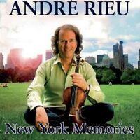 "ANDRE RIEU ""NEW YORK MEMORIES"" 2 CD NEUWARE"