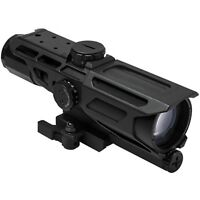 NcSTAR VISM GEN3 Black Mark III Tactical 3-9X40 Rifle Rail Mounted Scope/MIL-DOT