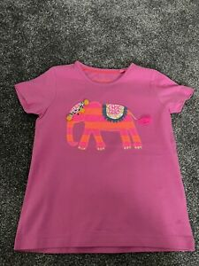 Boden Girls T-shirt EUC 5-6 Years