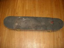 Vintage Used Wood Deck Skate Board Unbranded