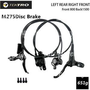 TEKTRO HD-M275 MTB Hydraulic Disc Brake Set Front and Rear Black Breke Set