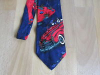 Disney MICKEY Mouse 1950's Car Images Tie by ATLAS Design