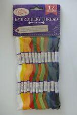4105 Green 8 mts Trebla Embroidery Skeins Of Thread £4.50 Per Box Of 24 Col