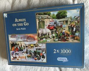Always on the Go by Kevin Walsh - Gibsons Puzzle - Jigsaw
