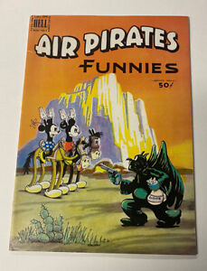 AIR PIRATES FUNNIES # 2 MICKEY MOUSE MEETS THE AIR PIRATES DISNEY PARODY BANNED!