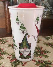Gnome Ceramic Travel Mug