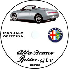 Manuale Officina Alfa Romeo Spider GTV (916).Alfa Romeo SERVICE ITA.