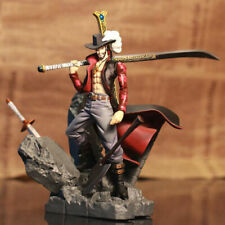 One Piece Figure Toy Dracule Mihawk Action Figure Model Doll With Sword